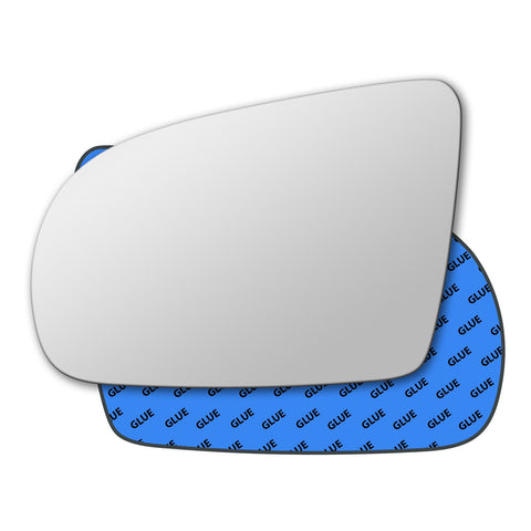 Mirror glass for Vauxhall Corsa Mk1 B 1993 - 2000