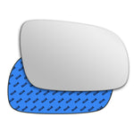 Mirror glass for Volkswagen Polo Mk3 2000 - 2002