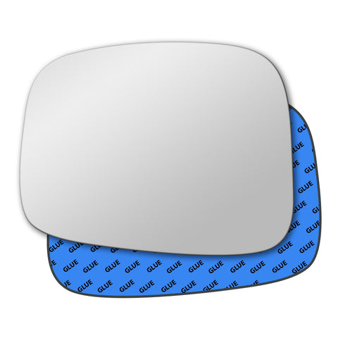 Mirror glass for Vauxhall Frontera 1998 - 2004