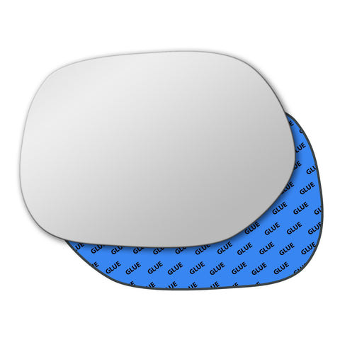 Mirror glass for Toyota Yaris Verso 2000 - 2004