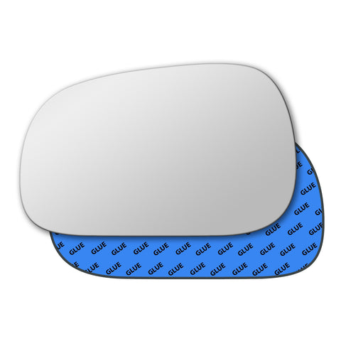 Mirror glass for Renault Safrane 1992 - 2000