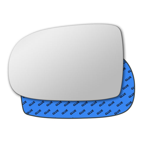 Mirror glass for Vauxhall Corsa Mk2 C 2000 - 2006