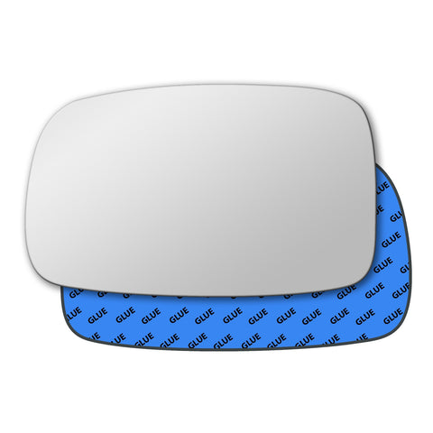Mirror glass for Volkswagen Corrado 1988 - 1995