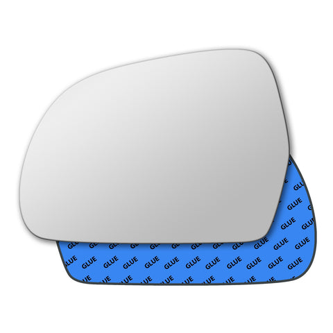 Mirror glass for Audi A3 Mk2 2008 - 2009