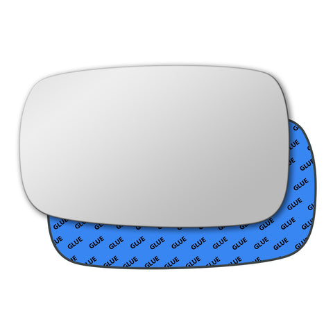 Mirror glass for Renault Laguna Mk2 2000 - 2007