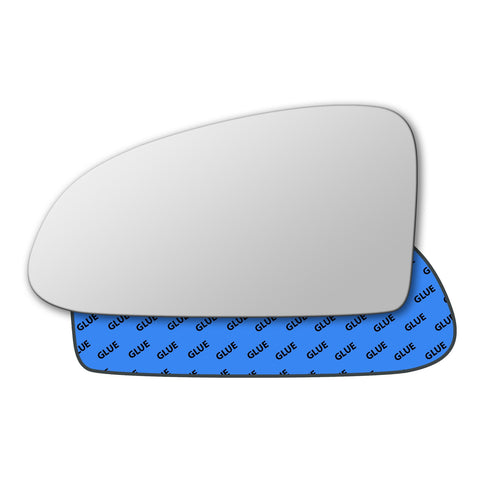 Mirror glass for Volkswagen New Beetle 1997 - 1999