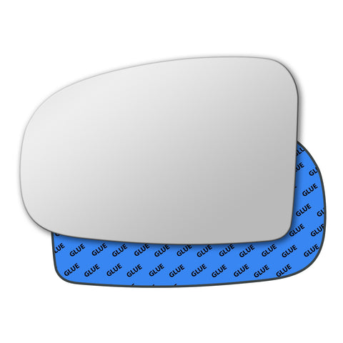 Mirror glass for Toyota Avensis Mk3 2009 - 2015