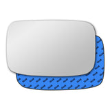 Mirror glass for Mazda 121 1996 - 2001
