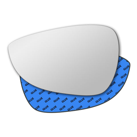 Mirror glass for Ford Fiesta 2008 - 2016