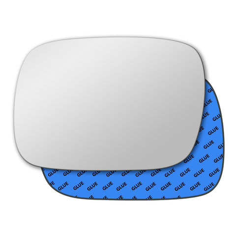 Mirror glass for Jeep Cherokee Mk3 1997 - 2001