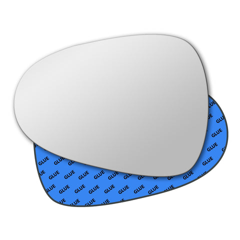 Mirror glass for Seat Leon Mk2 2009 - 2012