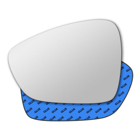 Mirror glass for Citroen C3 Mk2 2010 - 2016
