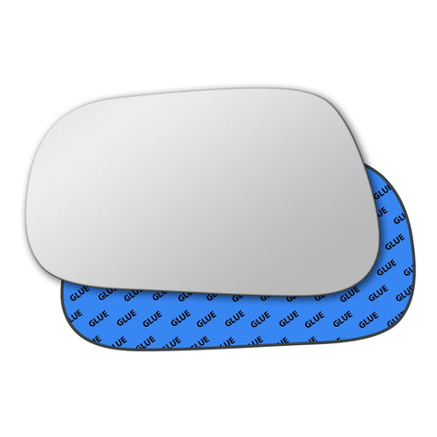 Mirror glass for Toyota Starlet 1989 - 1995