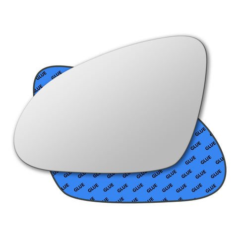 Mirror glass for Vauxhall Astra Mk6 J 2009 - 2015
