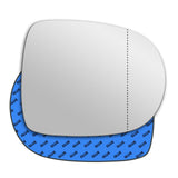 Mirror glass for Renault Clio Mk3 2009 - 2012