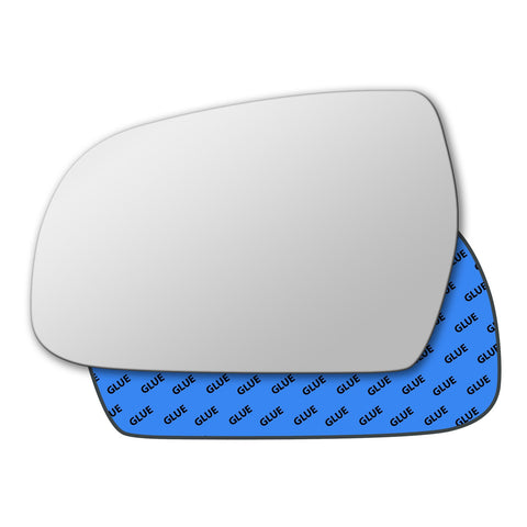 Mirror glass for Audi A5 B8 2010 - 2016