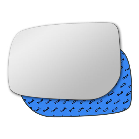 Mirror glass for Toyota Vitz 2005 - 2010