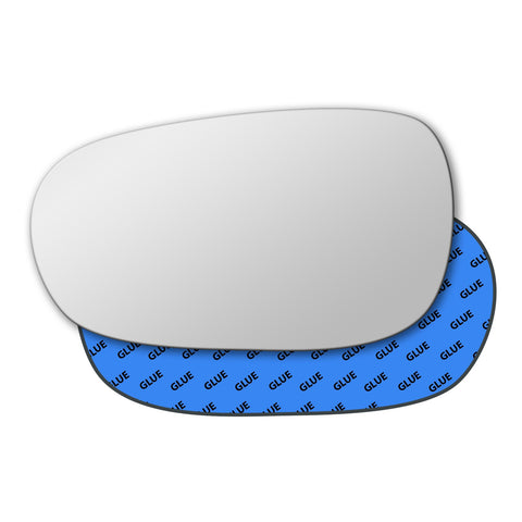 Mirror glass for Peugeot 607 1999 - 2012
