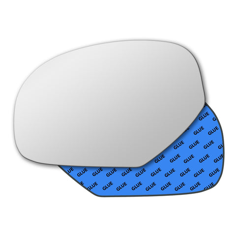 Mirror glass for GMC Sierra Mk2 2007 - 2013