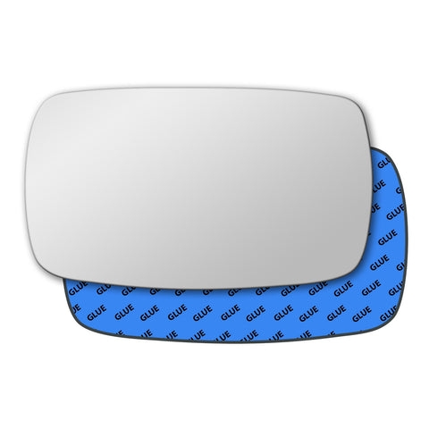 Mirror glass for Ford Fiesta 1995 - 2002