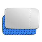 Mirror glass for Volkswagen Polo Mk2 1990 - 1994