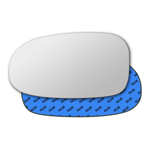 Mirror glass for Chrysler New Yorker 1994 - 1997