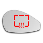 Mirror glass for Ferrari 599 GTB Fiorano 2007 - 2012