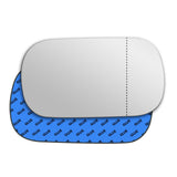 Mirror glass for Ferrari 512 TR Testarossa 1991 - 1994