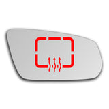 Mirror glass for Ford Mustang 2009 - 2014