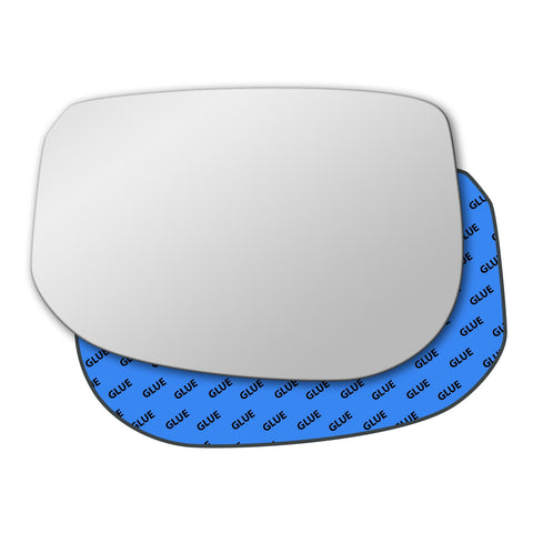 Mirror glass for Honda Jazz Mk2 2007 - 2014