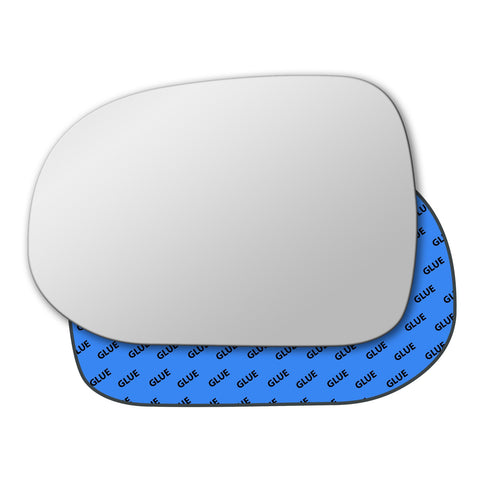 Mirror glass for Toyota Grand Hiace 1995 - 2002