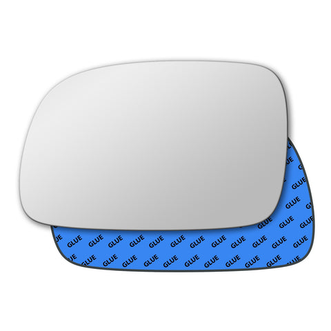 Mirror glass for Jeep Grand Cherokee Mk3 2005 - 2010