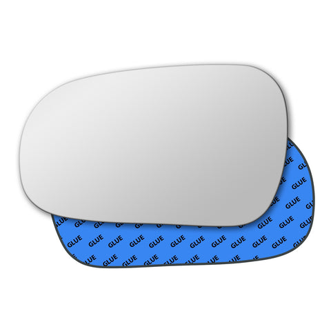 Mirror glass for Honda Civic Mk6 1996 - 2000