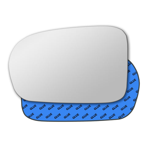 Mirror glass for Honda Accord US Mk6 1997 - 2003