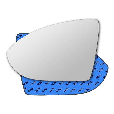 Mirror glass for Volkswagen Touran Mk2 2015 - 2020