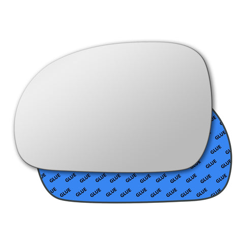 Mirror glass for Peugeot 406 1995 - 2008