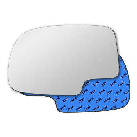 Mirror glass for GMC Sierra Mk1 2006 - 2007