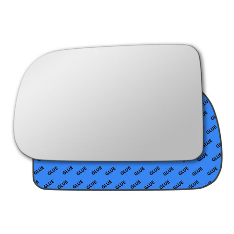 Mirror glass for GMC Sierra Mk1 2003 - 2005