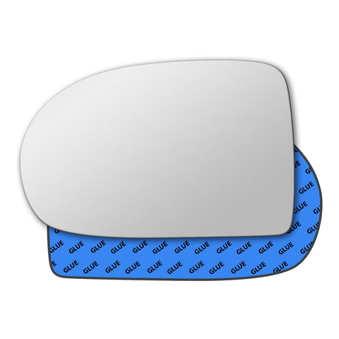 Mirror glass for Jeep Compass Mk1 2007 - 2017
