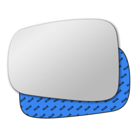 Mirror glass for Peugeot 807 2010 - 2014