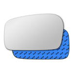 Mirror glass for Peugeot 806 1994 - 2002