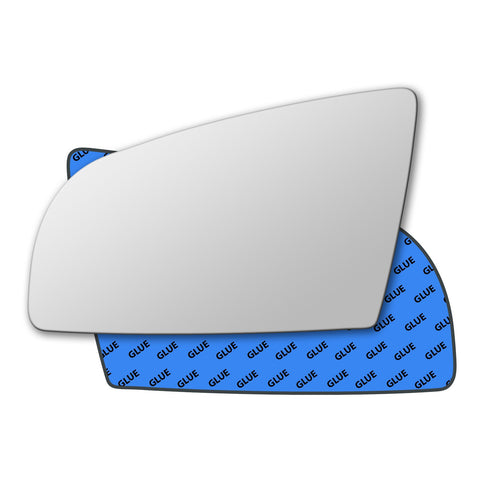 Mirror glass for Audi A3 Mk2 2003 - 2008