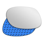 Mirror glass for Daewoo Korando 1996 - 2006