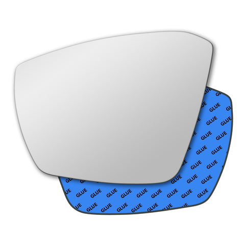 Mirror glass for Skoda Superb Mk3 2015 - 2020