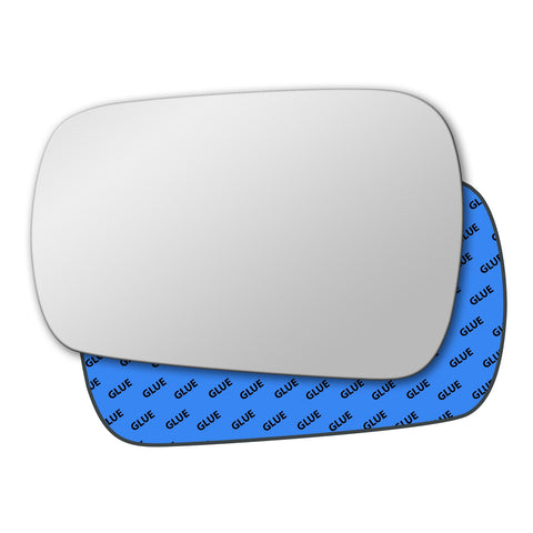 Mirror glass for Ford Fiesta 2002 - 2004