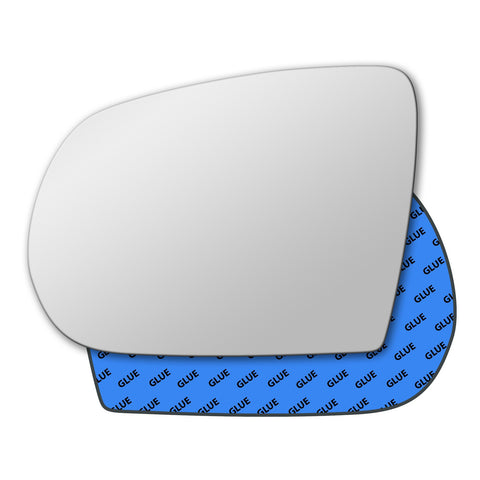 Mirror glass for Jeep Cherokee Mk5 2014 - 2020