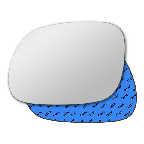 Mirror glass for Kia Soul Mk2 2014 - 2020