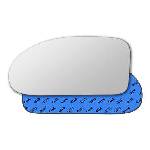 Mirror glass for Ford Focus Mk1 1998 - 2004