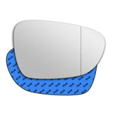 Mirror glass for Saab 9-5 2010 - 2012
