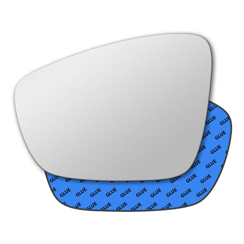 Mirror glass for Volkswagen Polo Mk5 2009 - 2017